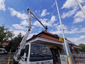Mycie dachu warszawa